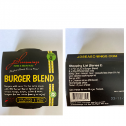 BURGER BLEND JD SEASONING