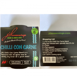 CHILLI CON CARNE JD SEASONING