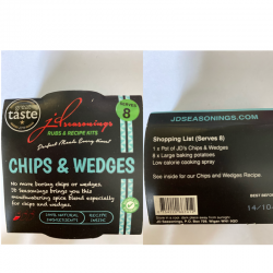 CHIPS & WEDGES JD SEASONING