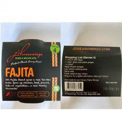 FAJITA  JD SEASONING