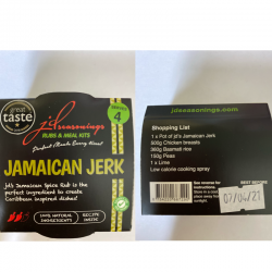 JAMAICAN JERK  JD SEASONING