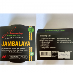 JAMBALAYA  JD SEASONING