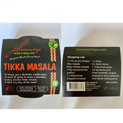 TIKKA MASALA   JD SEASONING