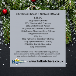 Christmas Cheese & Nibbles...