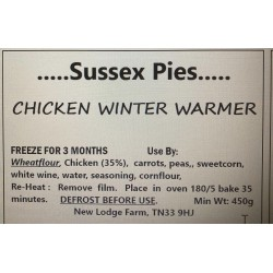 CHICKEN WINTER WARMER...